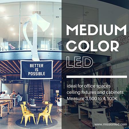 How to choose the right LED color temperature | Mission LED Blog