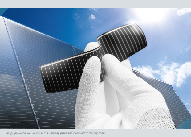 Exciting Collaboration Results in Solar Textile Innovation