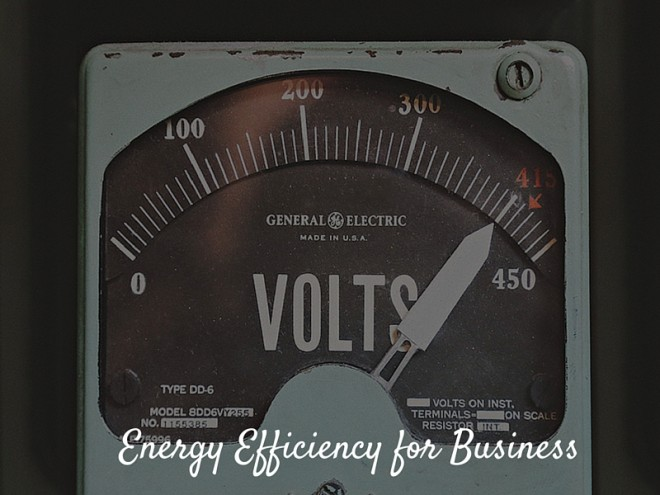 Defining Energy Efficiency for Business
