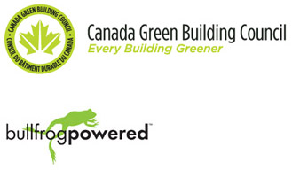 Canada Green Building Council and Bullfrog Powered